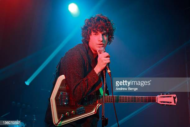 Luke Pritchard of The Kooks performs on stage at O2 Academy on December 18 2011 in Leeds United Kingdom