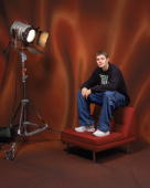 Luke Ridnour of the Seattle SuperSonics poses for a NBA AllStar portrait on February 18 2005 in Denver Colorado NOTE TO USER User expressly...
