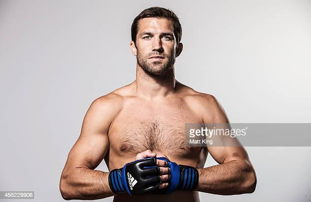 Luke Rockhold poses during the UFC Fight Night Rockhold v Bisping Press Event at Museum of Contemporary Art on September 11 2014 in Sydney Australia