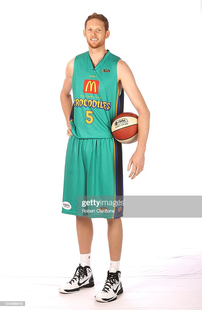 Luke Schenscher of the Townsville Crocodiles poses for a portrait at the Darwin Airport Resort on October 1 2010 in Darwin Australia