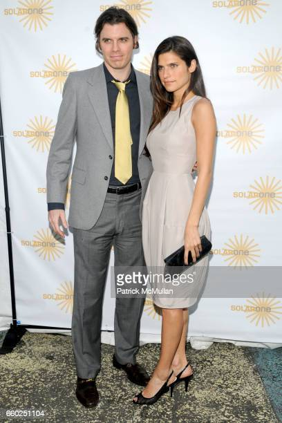 Luke Siegel and Lake Bell attend SOLAR 1's Revelry By The River Honors MATTHEW MODINE KICK KENNEDY HSBC at Stuyvesant Cove on June 2 2009 in New York