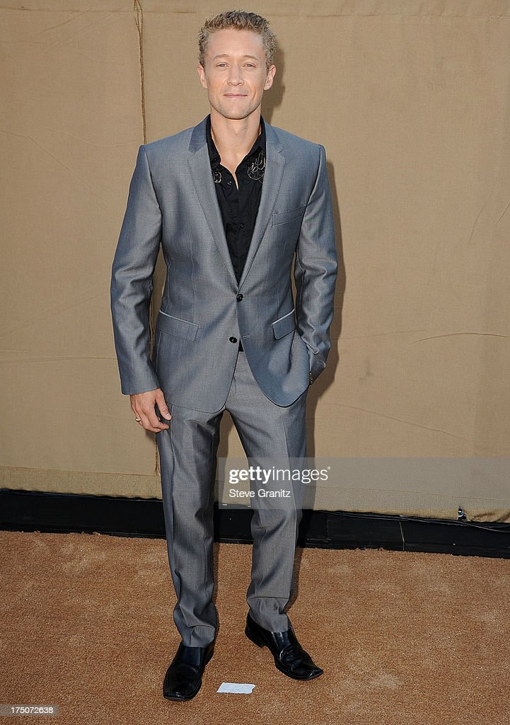 Luke Tipple arrives at the Television Critic Association's Summer Press Tour - CBS/CW/Showtime Party at 9900 Wilshire Blvd on July 29, 2013 in Beverly Hills, California.