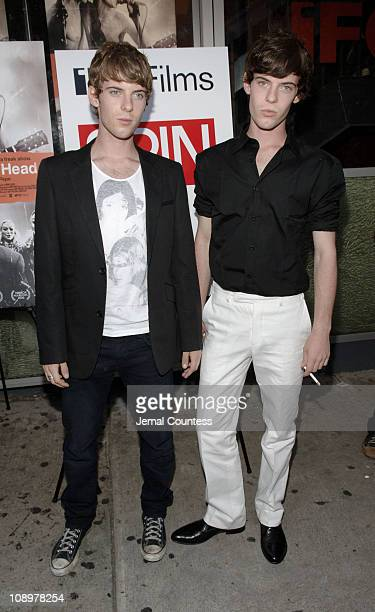 Luke Treadaway and Harry Treadaway during 'Brothers of the Head' New York City Premiere at IFC Center in New York City New York United States