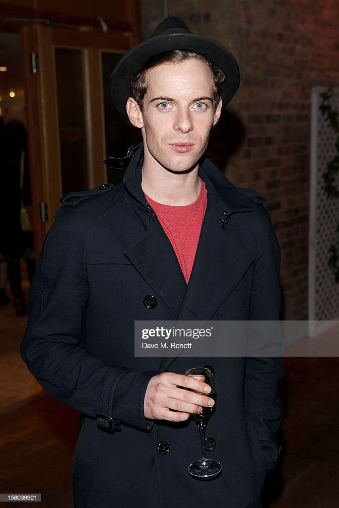 Luke Treadaway attends an after party celebrating the 24 Hour Musicals Gala Performance at Vinopolis on December 9, 2012 in London, England.
