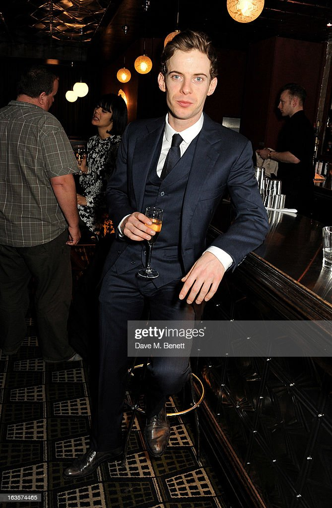 Luke Treadaway attends an after party celebrating the press night performance of 'The Curious Incident of the Dog in the NightTime' at Century on...