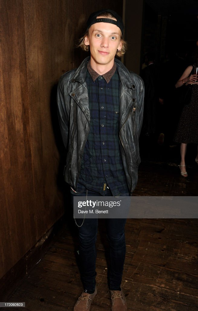 Luke Treadaway attends an after party following 'A Curious Night at the Theatre' a charity gala evening to raise funds for Ambitious about Autism and...