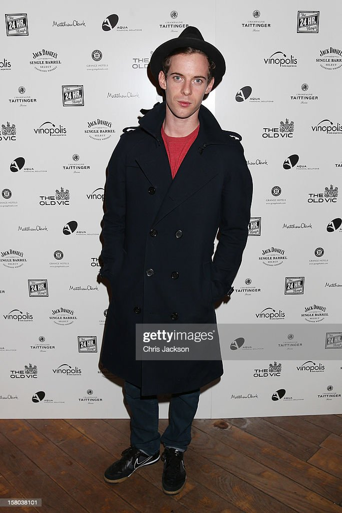Luke Treadaway attends the post-show party, The 25th Hour, following The Old Vic's 24 Hour Musicals Celebrity Gala 2012 during which guests drank Jack Daniels Single Barrel, Curtain Raiser cocktails in The Great Halls, Vinopolis, Borough on December 9, 2012 in London, England.