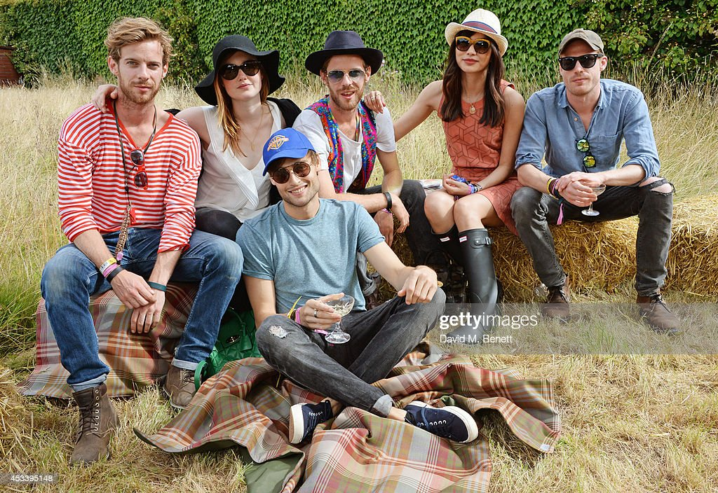 Luke Treadaway Holliday Grainger Douglas Booth Harry Treadaway Gemma Chan and Sam Reid attend The Mulberry Wilderness Picnic with Cara Delevingne...