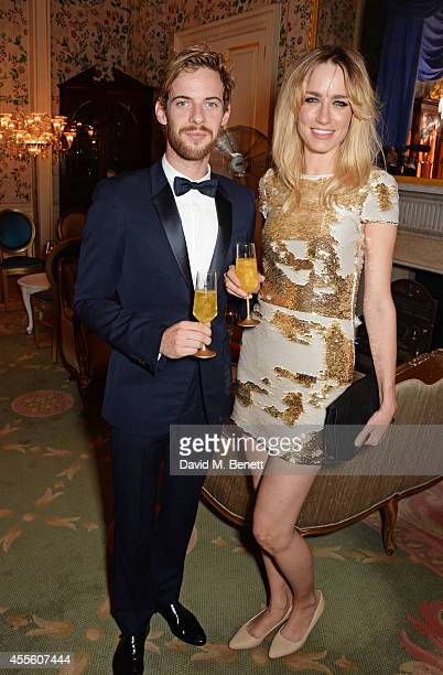Luke Treadawy and Ruta Gedmintas attend JOHNNIE WALKER BLUE LABEL Presents SYMPHONY IN BLUE A Journey To The Centre of The Glass on September 17 2014...