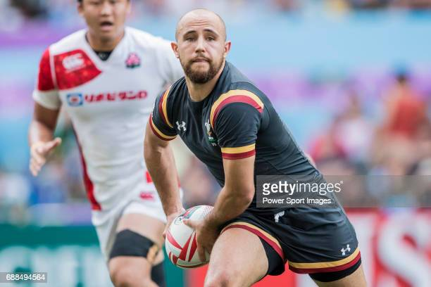Luke Treharne of Wales in action during their Pool C match between Wales and Japan as part of the HSBC Hong Kong Rugby Sevens 2017 on 08 April 2017...