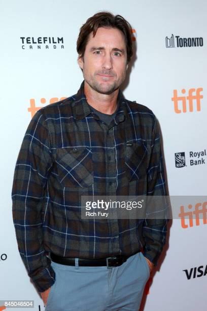 Luke Wilson attends the 'Brad's Status' premiere during the 2017 Toronto International Film Festival at Winter Garden Theatre on September 9 2017 in...
