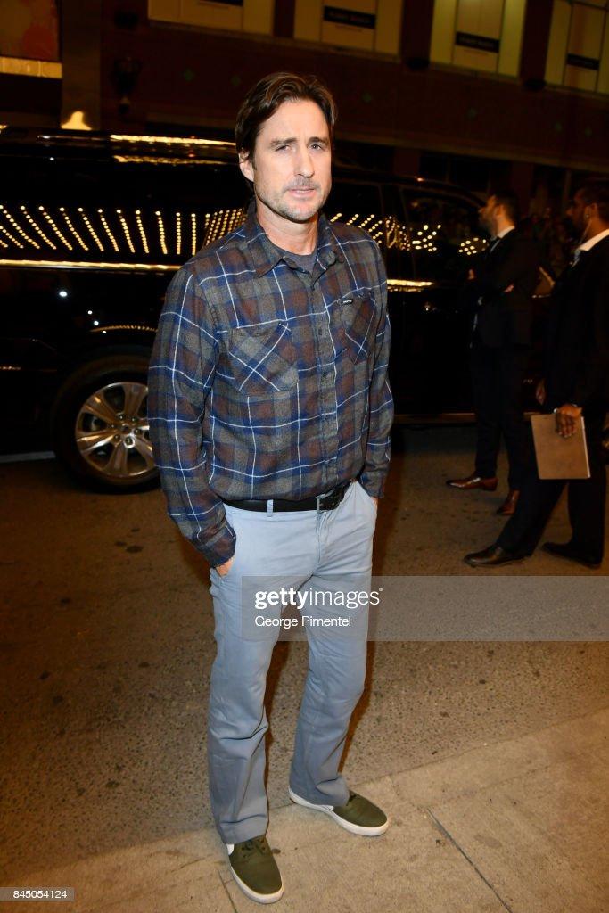 Luke Wilson attends the 'Brad's Status' premiere during the 2017 Toronto International Film Festival at Winter Garden Theatre on September 9, 2017 in Toronto, Canada.
