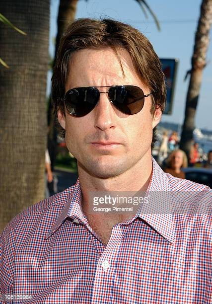 Luke Wilson during 2003 Cannes Film Festival Variety's 10 Producers to Watch Party at Variety Village in Cannes France
