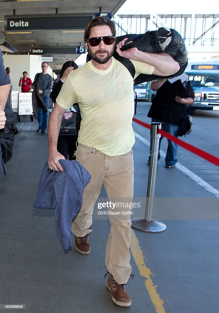 Luke Wilson is seen on January 17, 2014 in Los Angeles, California.