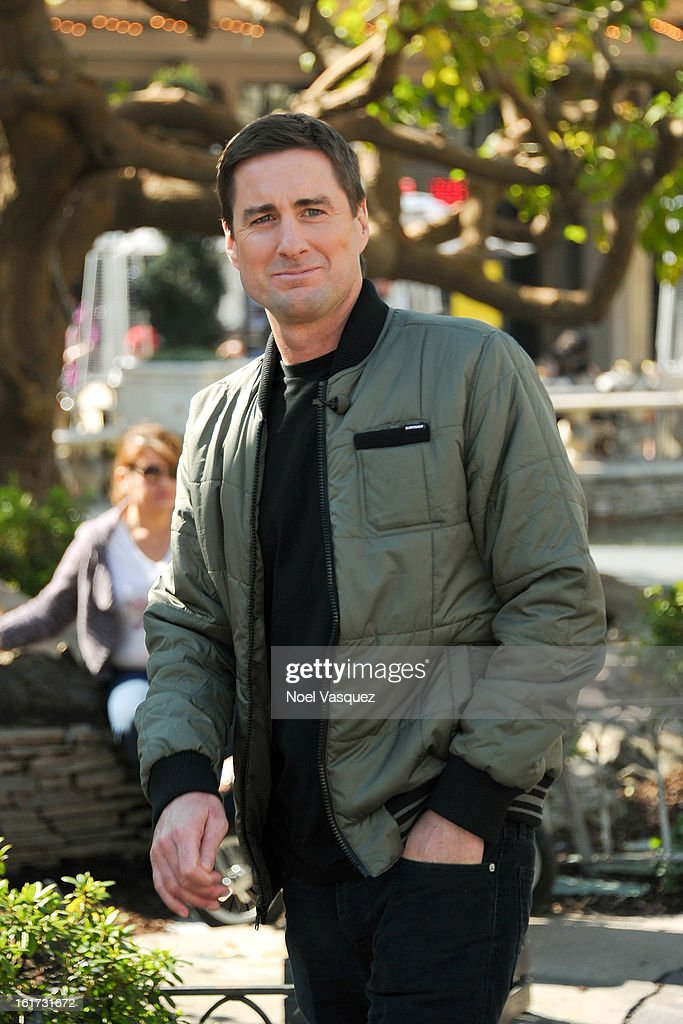<a gi-track='captionPersonalityLinkClicked' href=/galleries/search?phrase=Luke+Wilson&family=editorial&specificpeople=210582 ng-click='$event.stopPropagation()'>Luke Wilson</a> is sighted at The Grove on February 14, 2013 in Los Angeles, California.