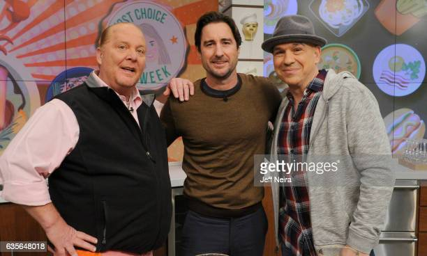 THE CHEW 2/15/17 Luke Wilson is the guest today February 15 2017 on ABC's 'The Chew' THE CHEW airs MF on the ABC Television Network SYMON