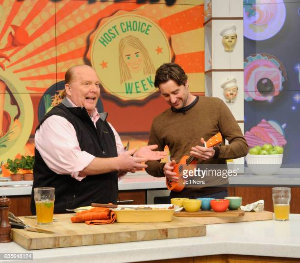 THE CHEW 2/15/17 Luke Wilson is the guest today February 15 2017 on ABC's 'The Chew' THE CHEW airs MF on the ABC Television Network WILSON