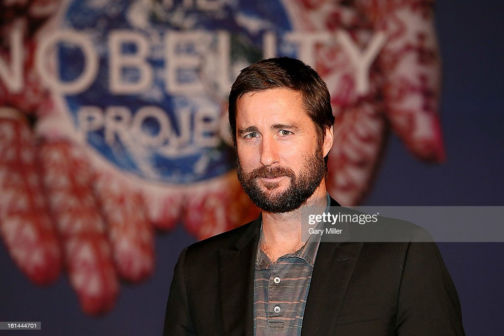 Luke Wilson on stage during the Nobelity Projects Artists and Filmmakers Dinner honoring Kris Kristofferson with the Feed The Peace award at the Four Seasons Hotel on February 10, 2013 in Austin, Texas.