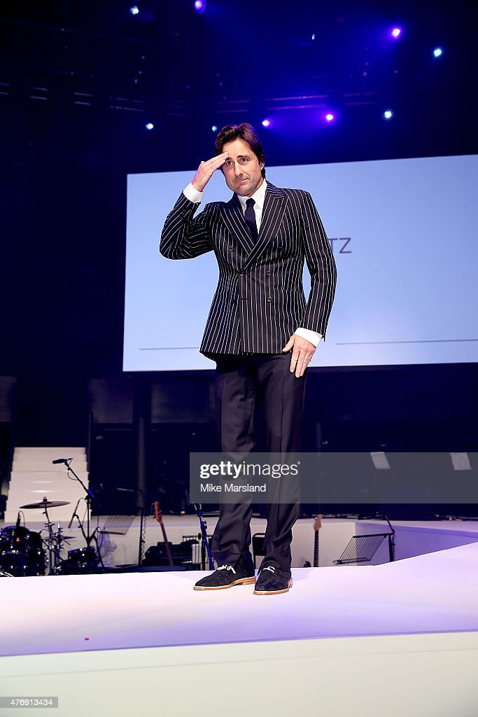 Luke Wilson on the catwalk during One For The Boys Fashion Ball hosted by Samuel L. Jackson, uniting men against cancer to kick start London Collections Men at The Roundhouse on June 12, 2015 in London, England.
