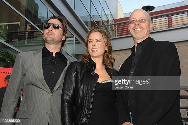 Luke Wilson Tea Leoni and John Dahl during 'You Kill Me' Los Angeles Premiere Red Carpet at ArcLight Hollywood in Hollywood California United States