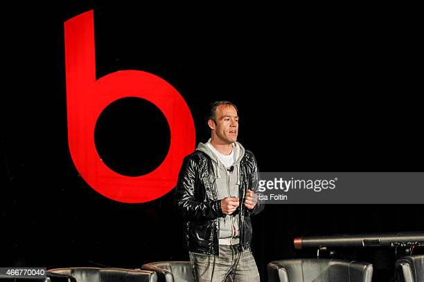 Luke Wood attends the Beats by Dr Dre Sound Symposium on March 18 2015 in Berlin Germany