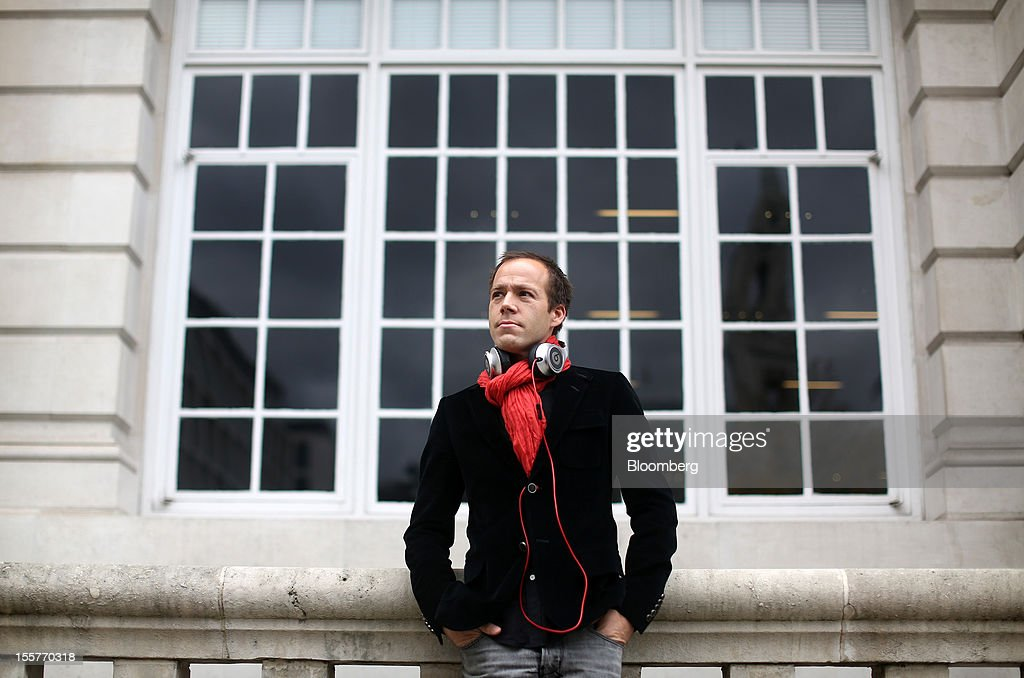 Luke Wood, president and chief operating officer of Beats Electronics LLC, poses for a photograph in London, U.K., on Thursday, Nov. 8, 2012. Beats, founded by music producer Jimmy Iovine and rapper Dr. Dre, plans over time to introduce features designed to make MOG music-streaming service easier for users to discover new bands and artists, Wood said. Photographer: Simon Dawson/Bloomberg via Getty Images