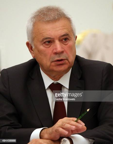 Lukoil president vagit alekperov at the lukoil annual shareholders meeting in moscow