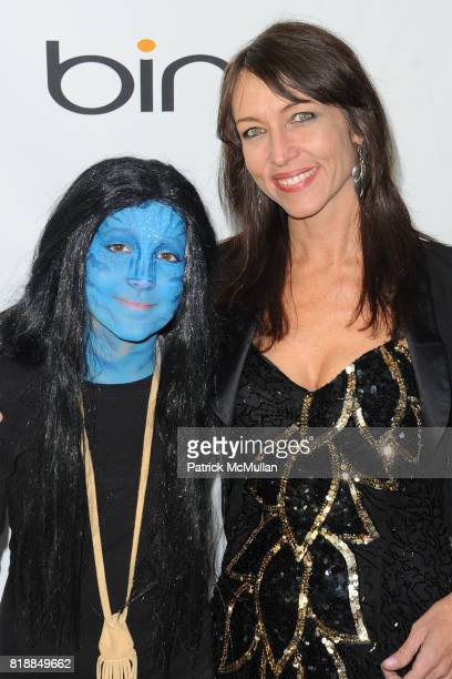 Lula Rod and Magda Rod attend James Cameron and AVATAR Cast Celebrate Earth Day in Los Angeles at JW Marriot on April 22 2010 in Los Angeles...