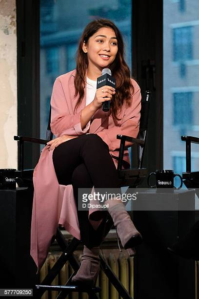 Lulu Antariksa attends the AOL Build Speaker Series to discuss go90's 11part thriller 'T@gged' at AOL HQ on July 19 2016 in New York City