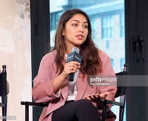 Lulu Antariksa speaks onstage at AOL Build Speaker Series to discuss go90's 11part thriller 'T@gged' at AOL HQ on July 19 2016 in New York City