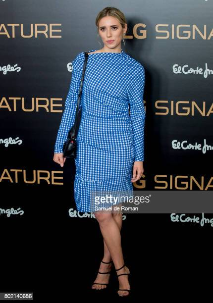 Lulu Figueroa attends LG Signature Presentation on June 27 2017 in Madrid Spain
