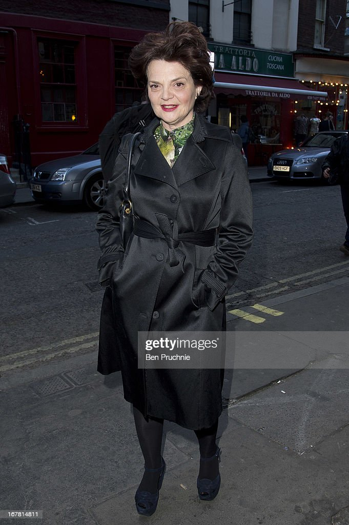 Lulu Guinness attends the Conde Nast College of Fashion & Design launch party on April 30, 2013 in London, England.
