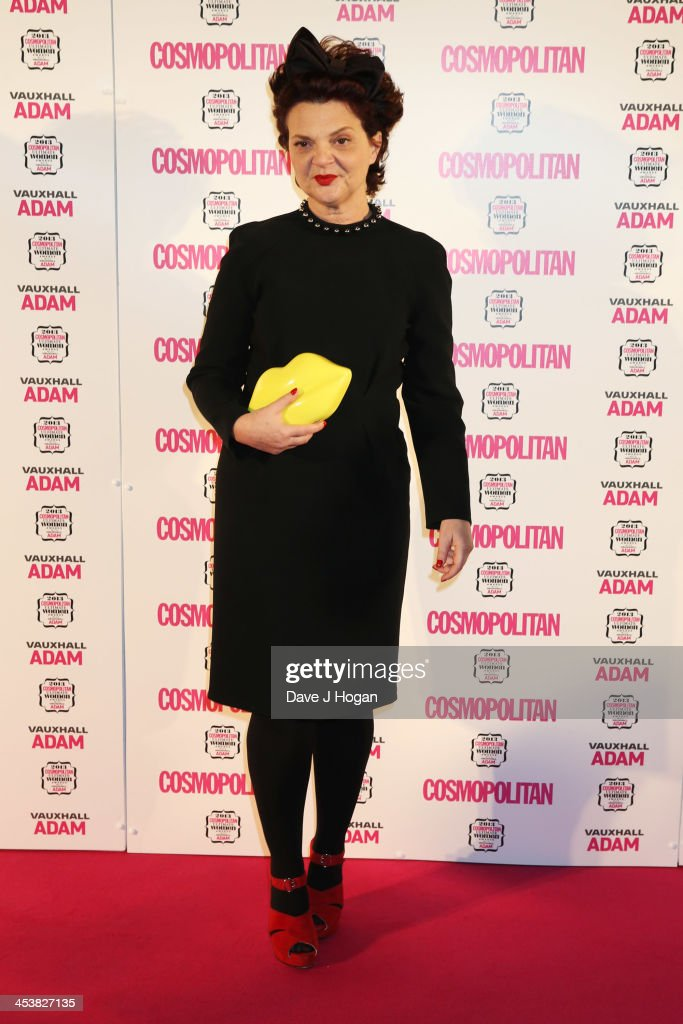 Lulu Guinness attends the Cosmopolitan Ultimate Women Of The Year Awards 2013 at The Victoria and Albert Museum on December 5, 2013 in London, England.