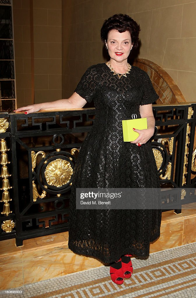 Lulu Guinness attends the Marie Claire 25th birthday celebration featuring Icons of Our Time in association with The Outnet at the Cafe Royal Hotel on September 17, 2013 in London, England.