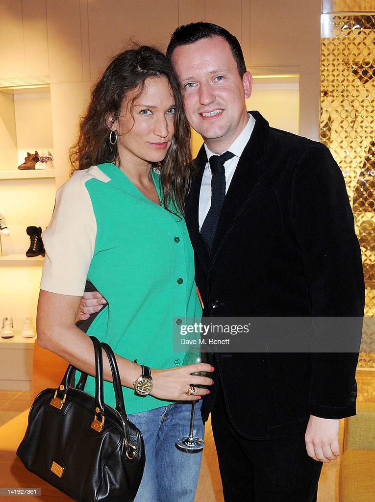 Lulu Kennedy and Ben Reardon attend a private cocktail hosted by Louis Vuitton and GQ Style to celebrate Louis Vuitton Men's Style Director Kim...
