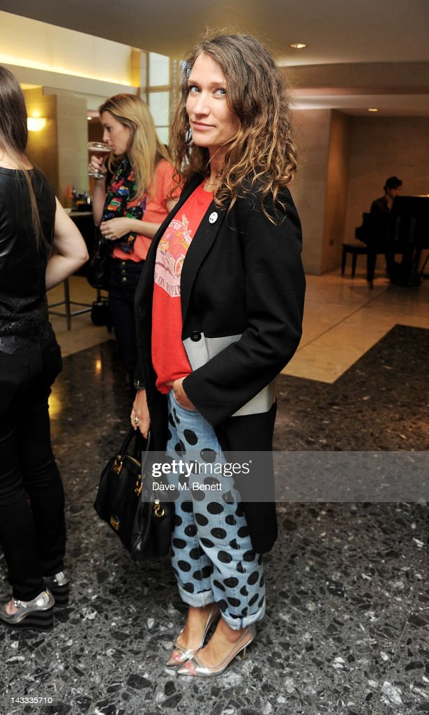 Lulu Kennedy attends as Whistles and Penguin inspire 'The Best of Everything' dinner hosted by Whistles CEO Jane Shepherdson at 80 Strand on April 24...