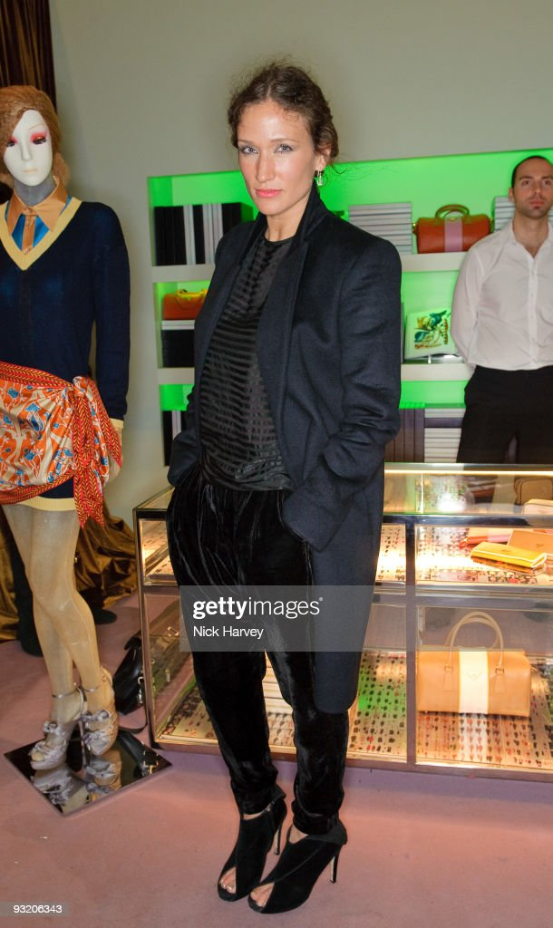 Lulu Kennedy attends party to celebrate launch of new Prada book on November 18 2009 in London England