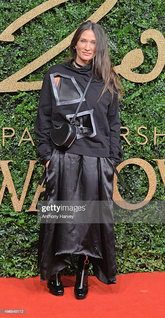 Lulu Kennedy attends the British Fashion Awards 2015 at London Coliseum on November 23 2015 in London England