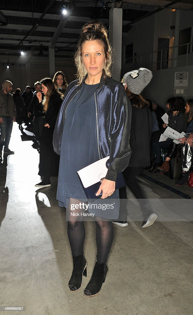 Lulu Kennedy attends the Giles show at London Fashion Week AW14 at on February 17 2014 in London England