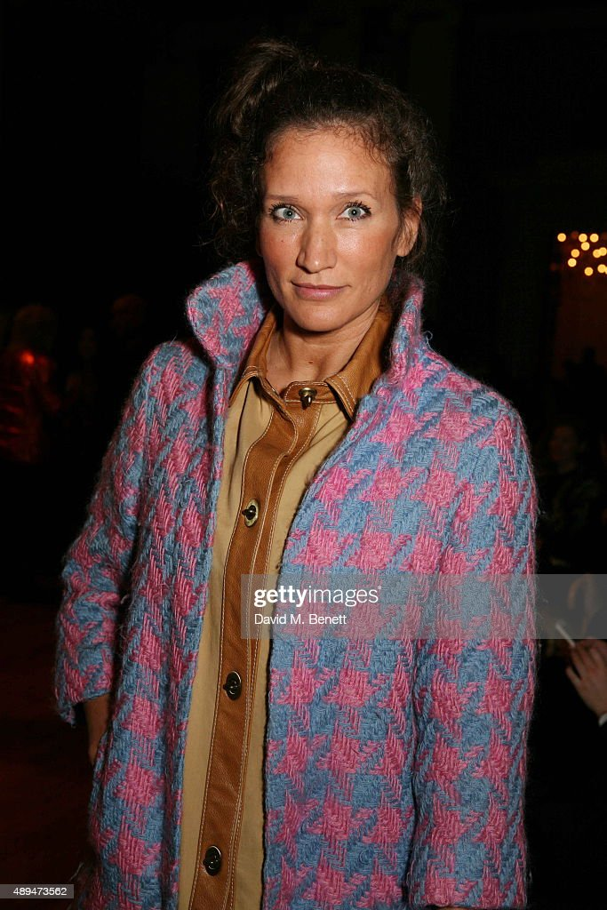 Lulu Kennedy attends the GILES show during London Fashion Week SS16 at Banqueting House on September 21 2015 in London England
