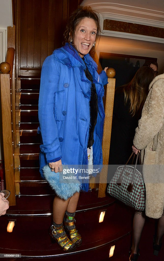 Lulu Kennedy attends the launch of LOVE special editions at George on February 17 2014 in London England