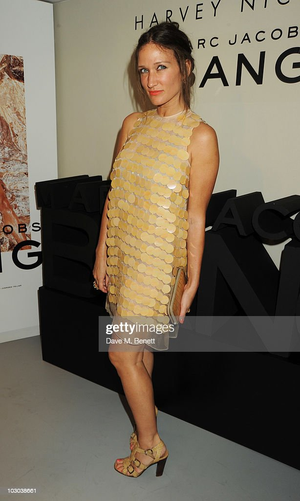 Lulu Kennedy attends the Marc Jacobs fragrance preview at Harvey Nichols on July 22 2010 in London England