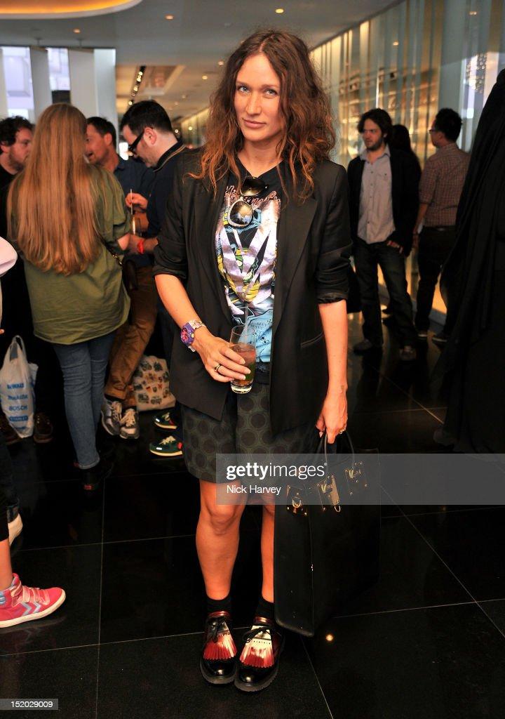 Lulu Kennedy attends the Sister By Sibling x W London LFW Tea Salon Launch on September 15 2012 in London England