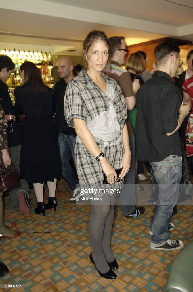 Lulu Kennedy during Harpers Bazaar Party in London April 21 2006 at Dover Street Arts Club in London Great Britain