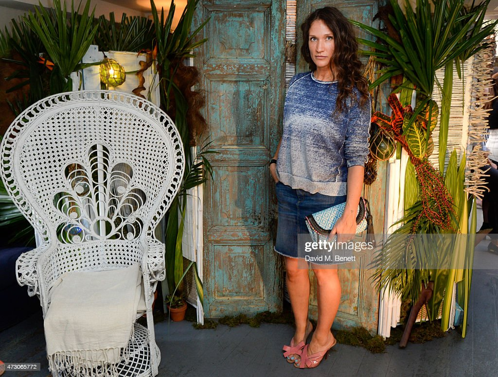 Lulu Kennedy MBE attends the Lulu Kennedy For Indigo Collection launch for Marks Spencer at Soho House on May 12 2015 in London England