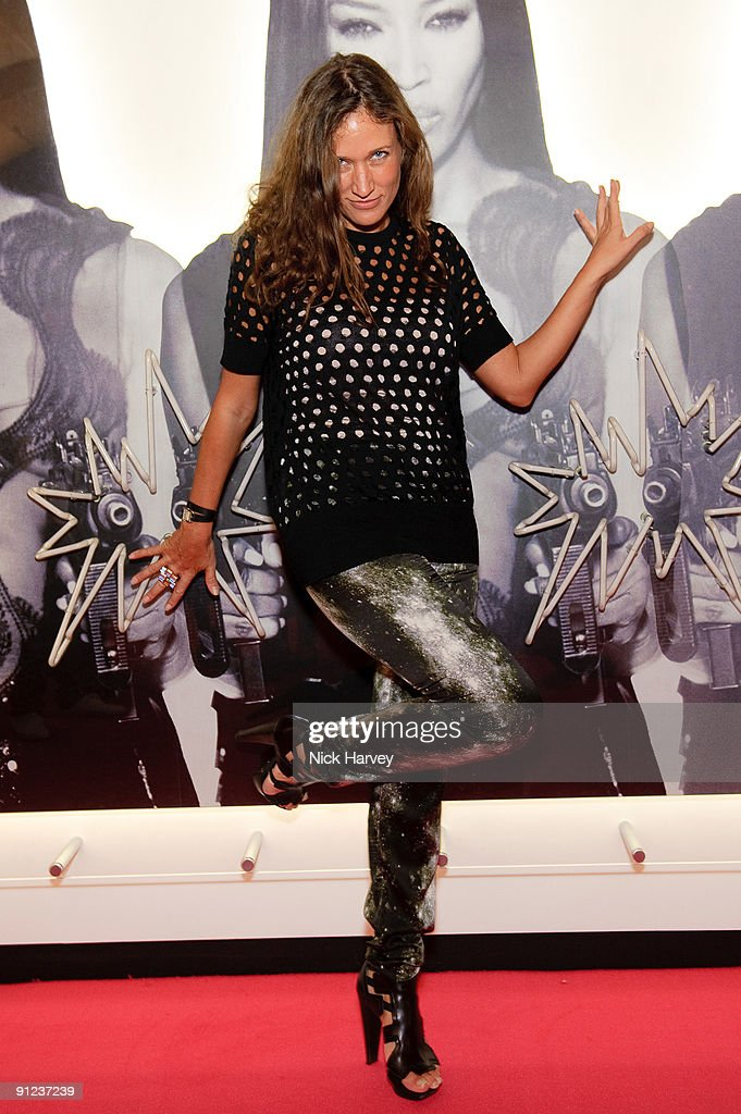 Lulu Kennedy of Fashion East attends Nick Knight's ShowStudio Opening Party as part of London Fashion Week Spring/Summer 2010 on September 21 2009 in...