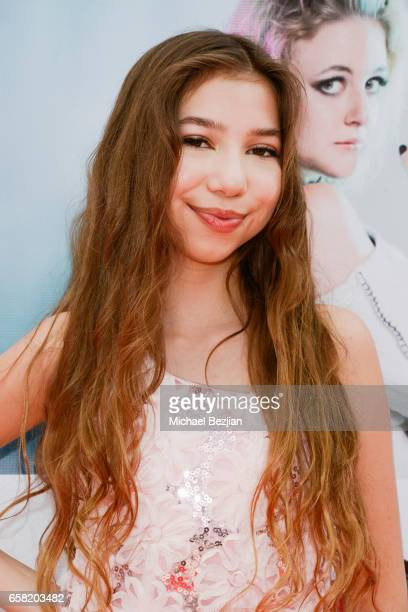 Lulu Lambros arrives at Teen Recording Artist Mahkenna's Sweet 16/Expect2Win Extravaganza at ANC Productions on March 26 2017 in Burbank California