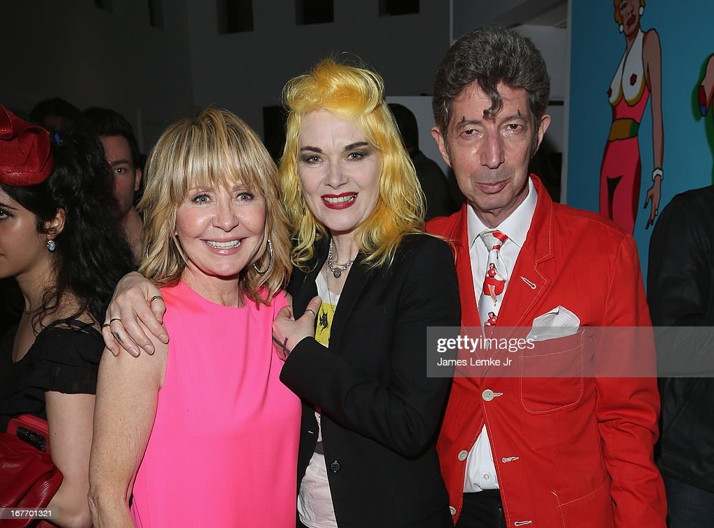 Lulu Pam Hogg and Duggie Fields attend the Filmmaker and Genlux Magazine Fashion Editor Amanda Eliasch Hosts BritWeek 2013 Cocktail Party on April 27, 2013 in West Hollywood, California.
