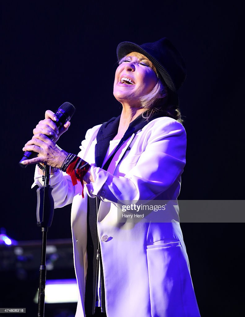 Lulu performs at Bournemouth Pavilion on May 26, 2015 in Bournemouth, England.