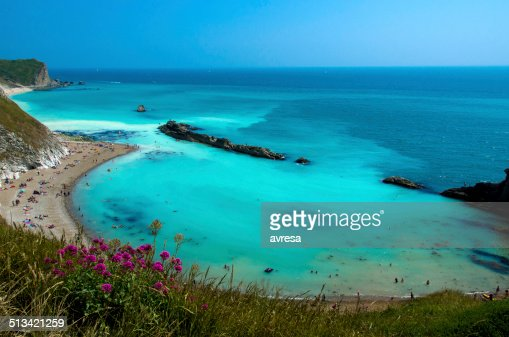 Lulworth Cove, Dorset, UK : Stock Photo